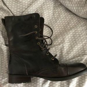 Born Combat Boots